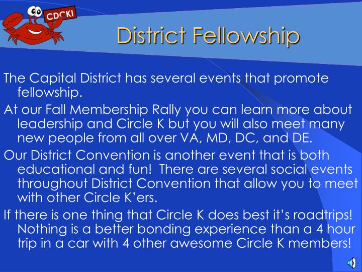 District Fellowship