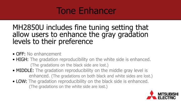 Tone Enhancer