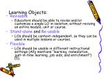 learning objects2