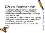 los and constructivism