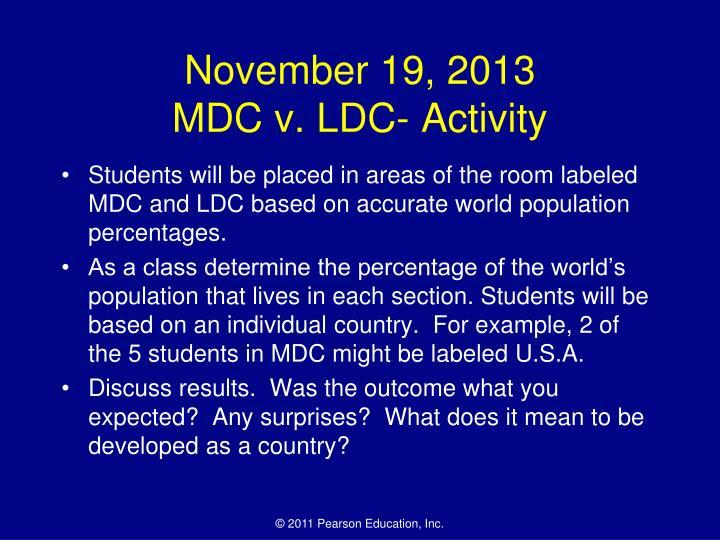November 19, 2013