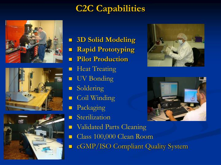 C2C Capabilities