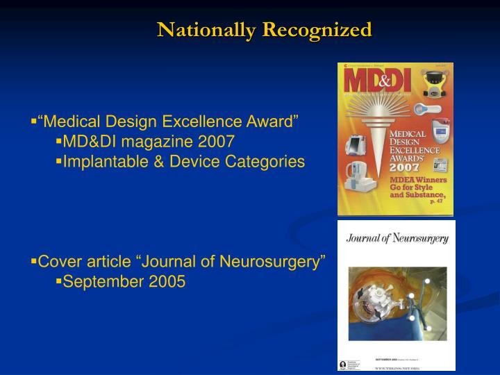 Nationally Recognized