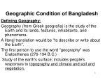 geographic condition of bangladesh1