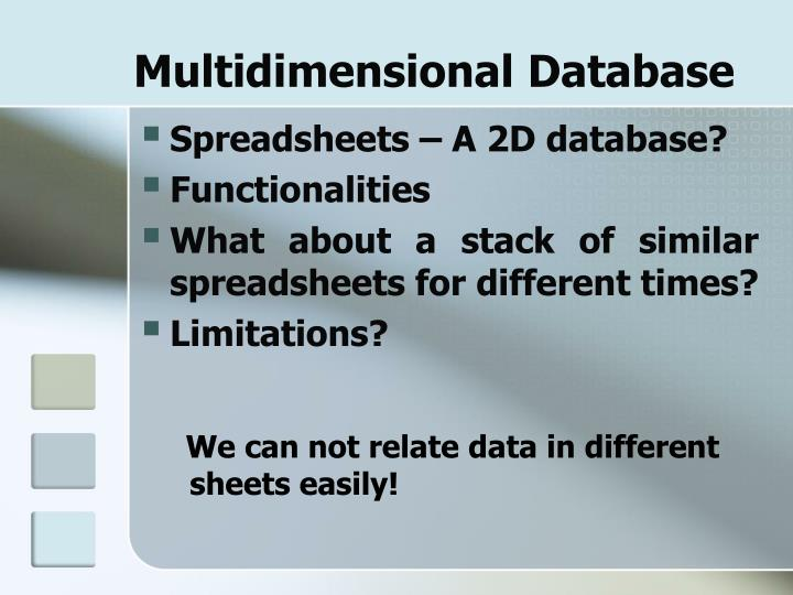 Multidimensional Database