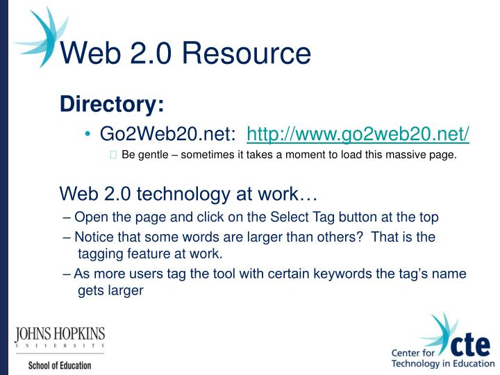 Web 2.0 Resource