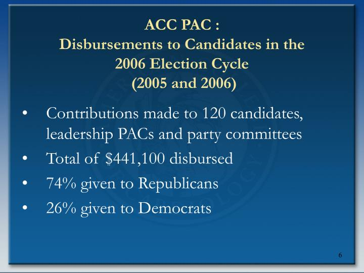 ACC PAC :