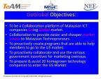 goglobal objectives