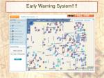 early warning system