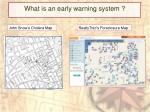what is an early warning system