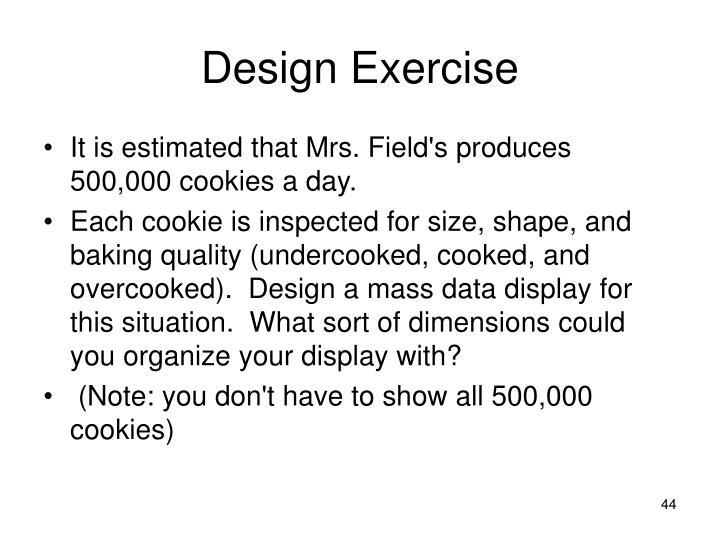 Design Exercise