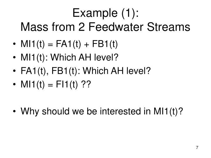 Example (1):