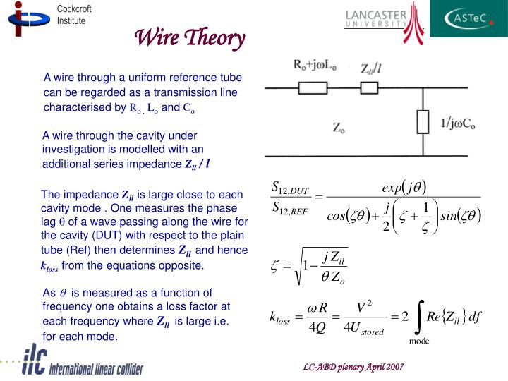 Wire Theory