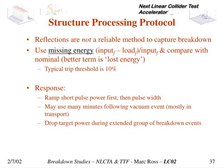 Structure Processing Protocol