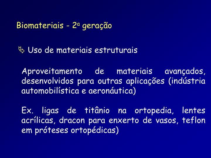 Biomateriais - 2
