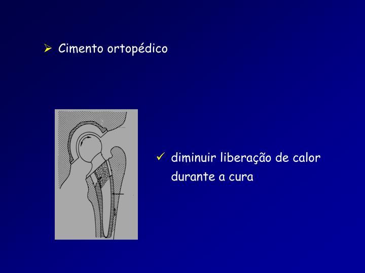 Cimento ortopédico