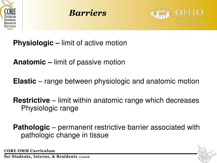 Physiologic –