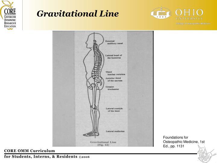 Gravitational Line