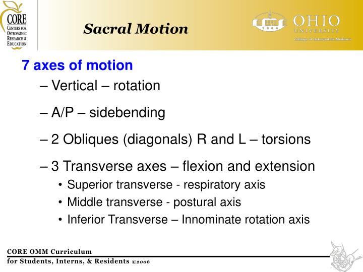 7 axes of motion