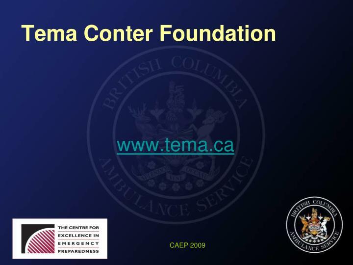Tema Conter Foundation
