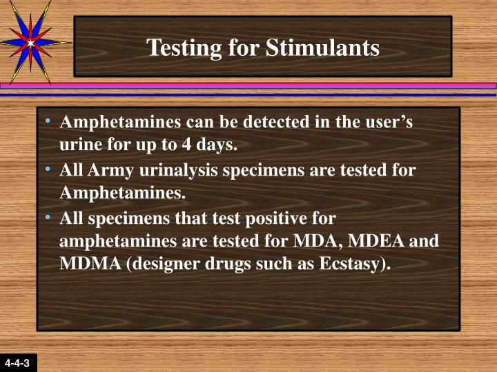 Testing for Stimulants