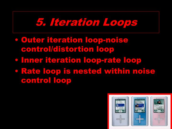 5. Iteration Loops