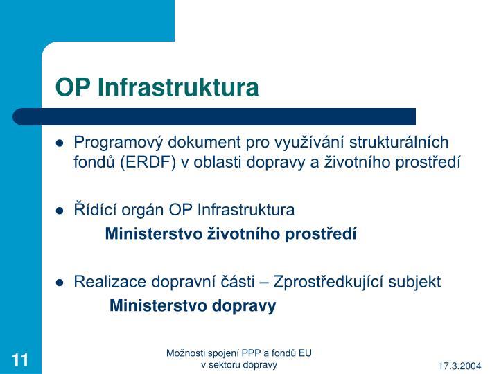 OP Infrastruktura