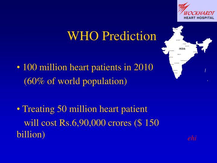 Who prediction