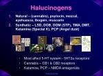 halucinogens