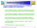 additional assembly plates