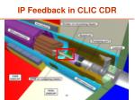 ip feedback in clic cdr