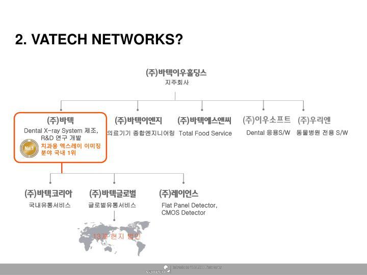 2. VATECH NETWORKS?