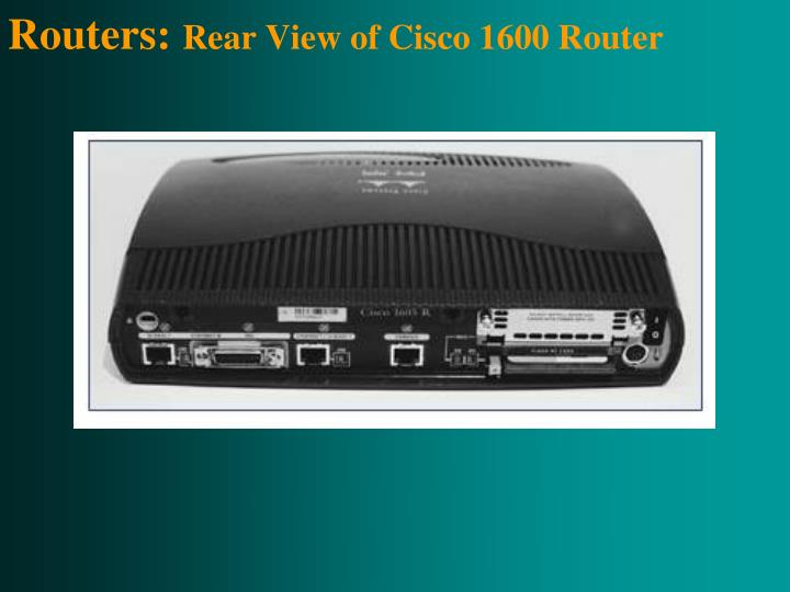 Routers: