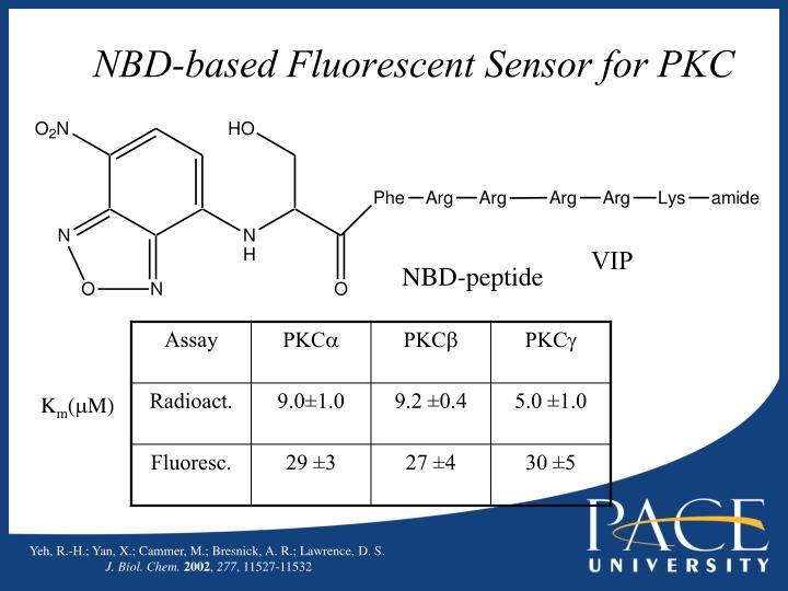 NBD-based Fluorescent Sensor for PKC
