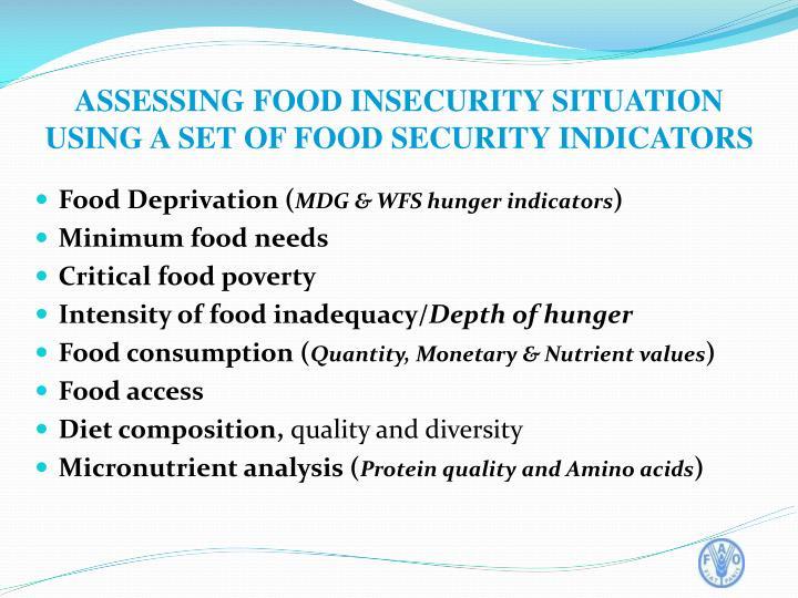 Food Deprivation (