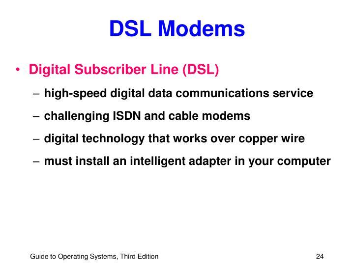 DSL Modems