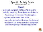 specific activity scale goldman circulation 64 1227 19811