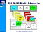 iso tc215 health informatics1