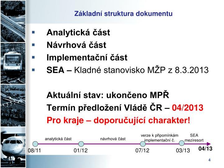 Analytická část