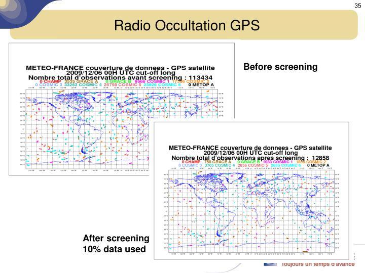 Radio Occultation GPS