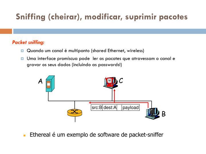 src:B dest:A     payload