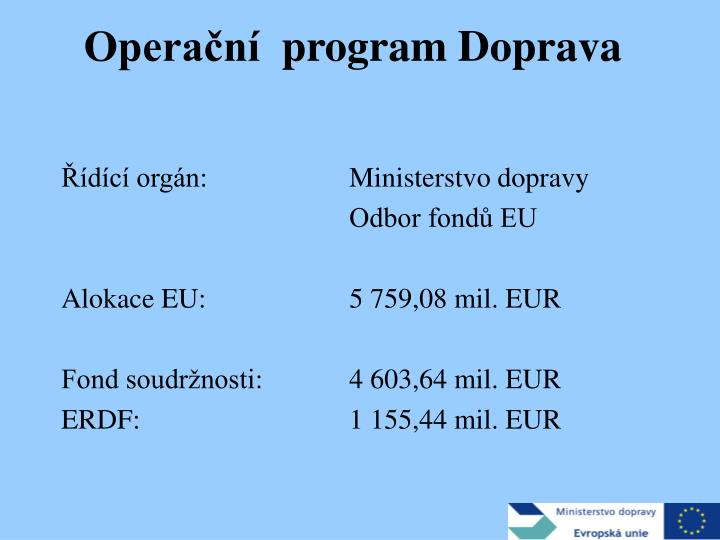 Opera n program doprava