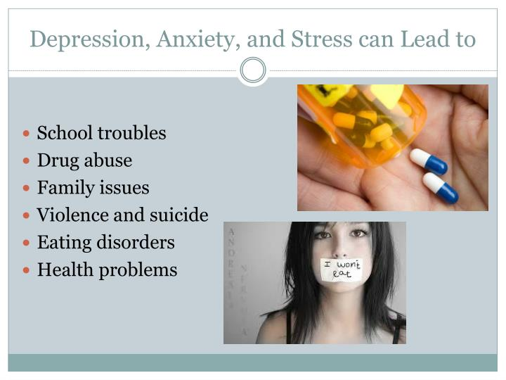 depression anxiety and stress How can the answer be improved.
