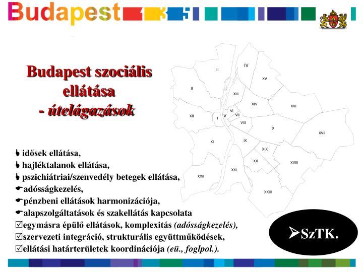 Budapest szociális