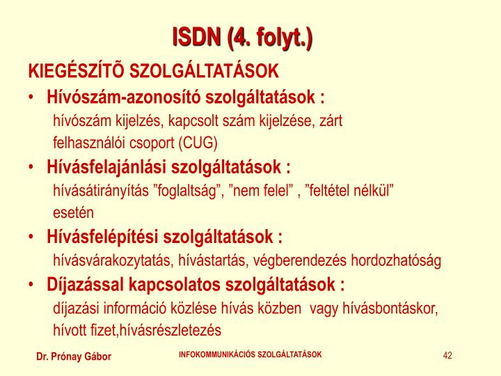 ISDN (
