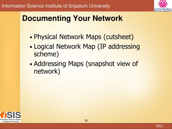 Documenting Your Network