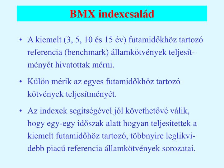 BMX indexcsalád