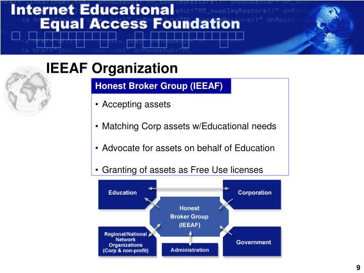 IEEAF Organization