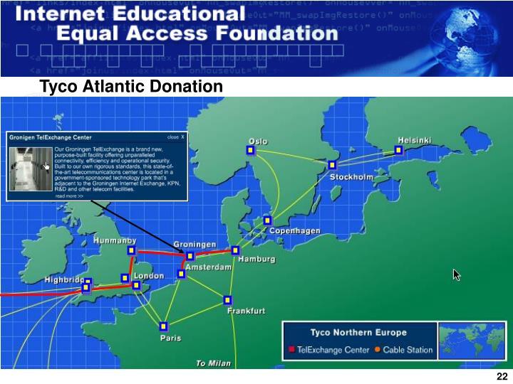Tyco Atlantic Donation