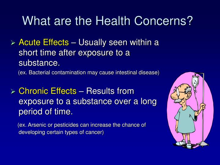 What are the Health Concerns?